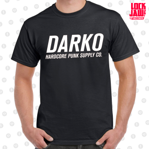 Darko Classic Logo Hardcore Punk Supply T-Shirt