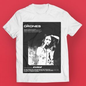 Drones t-shirt post madrone